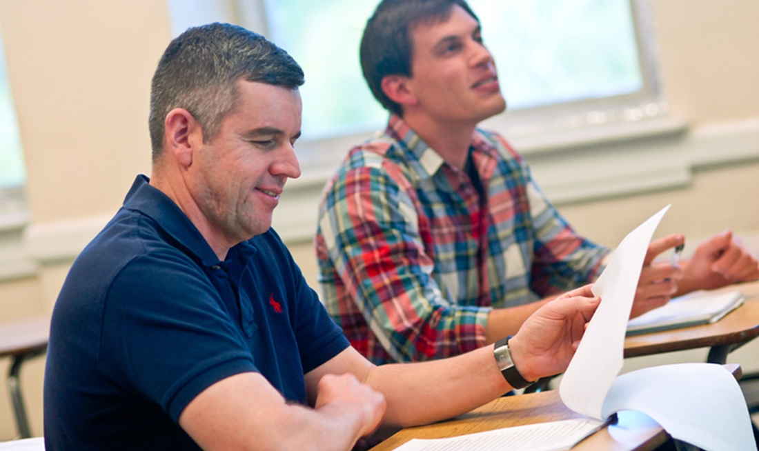 The Citadel's Graduate College offers over 60 Master's and Certificate Programs